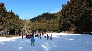 年少雪遊び(H28.1.22)