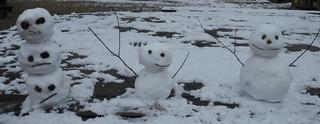 雪だるま&だんご3兄弟.jpg